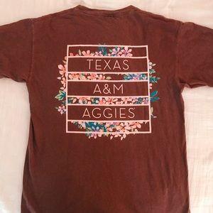 aggies comfort color t-shirt